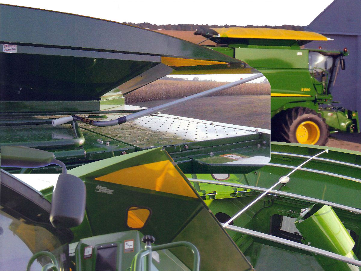 Combine Roll Top Cover