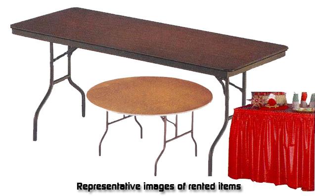 Representative image of rented items.
